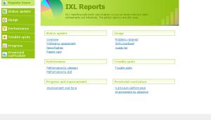 IXL Comprehensive Reports